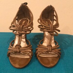 Maxstudio.com tan genuine leather shoes